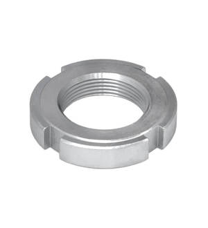 groove nut for hollow screw DIN 1804