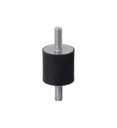 Rubber buffer cylindrical