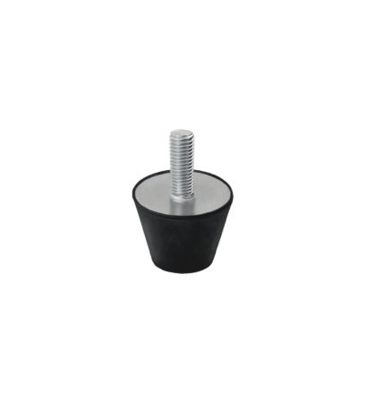Rubber buffer conical